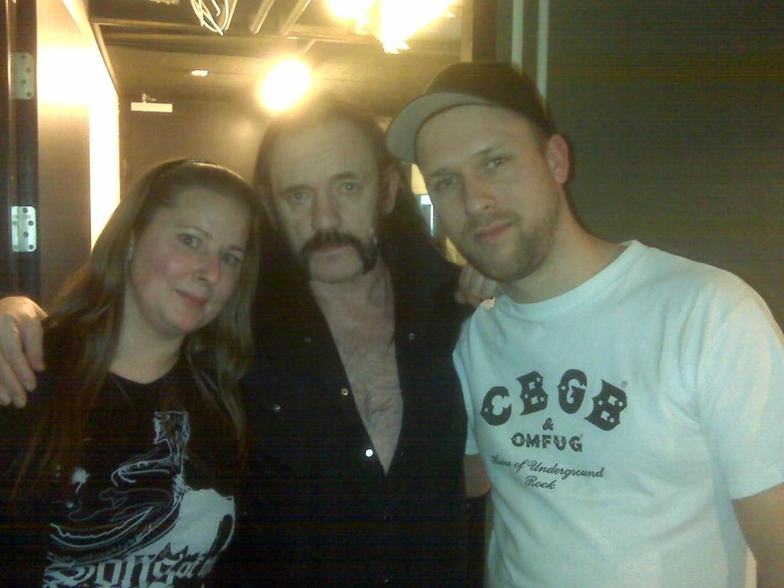 Yvonne, Lemmy, Frank